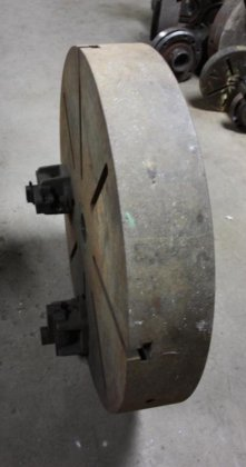 "36"" FACE PLATE TYPE CHUCK"