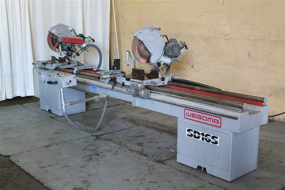 Wegoma SD16S MODEL COLD SAW