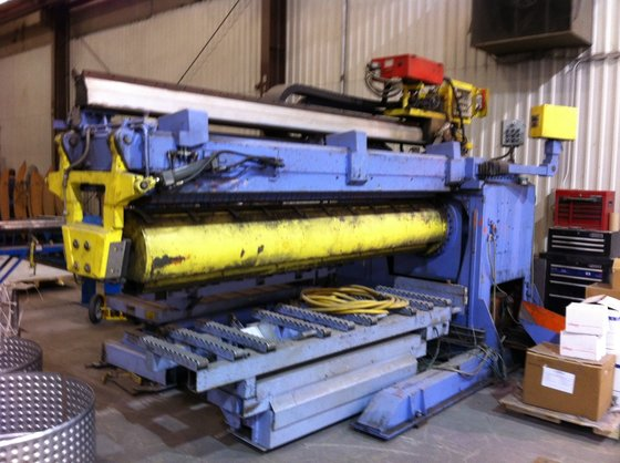 "120"" CLOOS SEAM WELDER WITH"