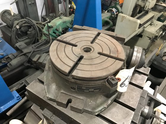 "10"" SLT HORIZONTAL/VERTICAL ROTARY TABLE"