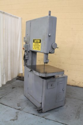 "Grob NS24 24"" VERTICAL BANDSAW"
