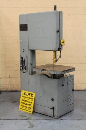 "Grob 24"" VERTICAL BANDSAW in"