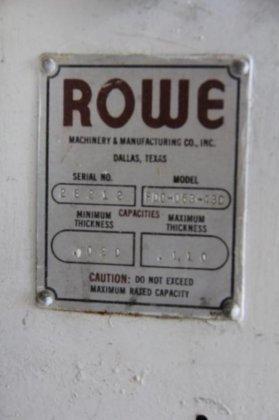 """Rowe FDC-053-430 30"""" MODEL #"""