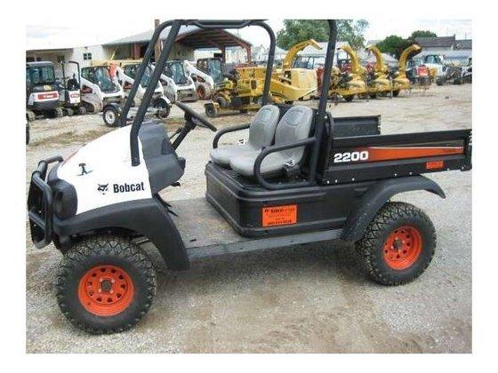 2010 Bobcat 2200G Utility Vehicle