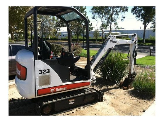 2008 Bobcat 323 Excavator in