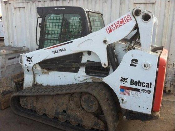 2011 Bobcat T770 Loader in