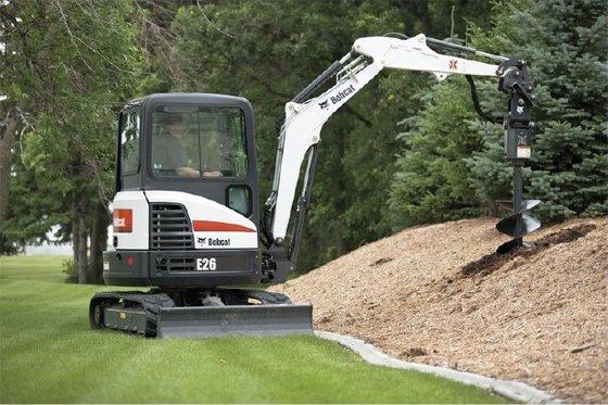 2014 Bobcat E26 Excavator in