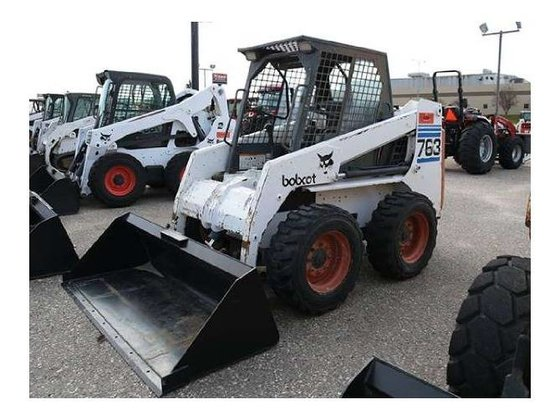 1998 Bobcat 763 Skid-Steer Loader