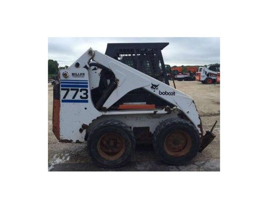 Bobcat 773 Skid-Steer Loader in