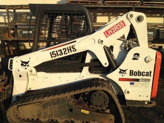 2013 Bobcat T650 Skid-Steer Loader