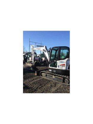 2013 Bobcat E63 Excavator in