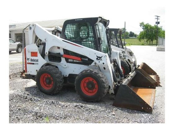 2012 Bobcat S770 Skid-Steer Loader