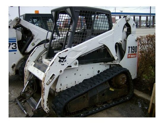 2012 Bobcat T190 Loader in