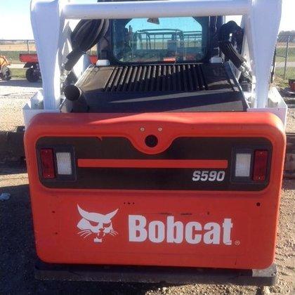 2013 Bobcat S590 Skid-Steer Loader