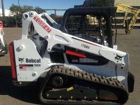 2014 Bobcat T590 Skid-Steer Loader