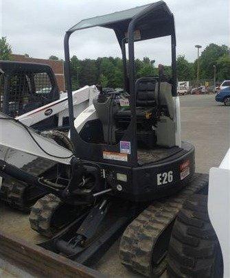 2013 Bobcat E26 Excavator in
