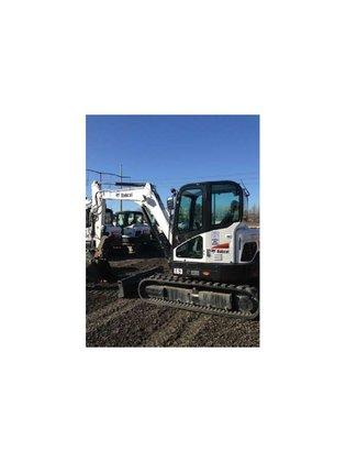 2014 Bobcat E63 Excavator in