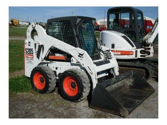 2011 Bobcat S205 Skid-Steer Loader