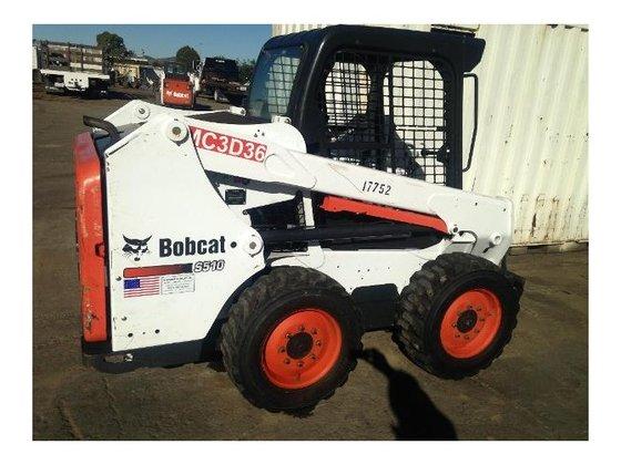 2012 Bobcat S510 Skid-Steer Loader