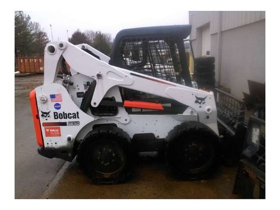 2012 Bobcat S650 Skid-Steer Loader