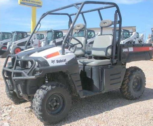 2011 Bobcat 3400 Utility Vehicle