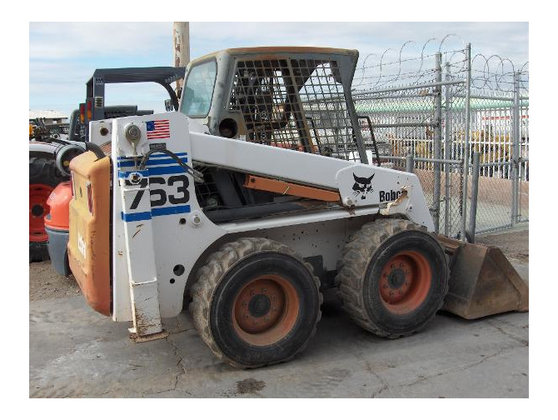 2001 Bobcat 763 Skid-Steer Loader