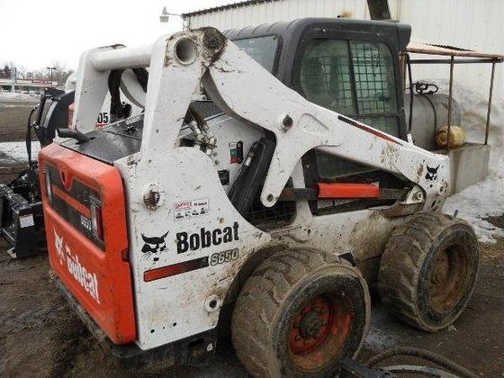 2012 Bobcat S650 Skid-Steer Loader