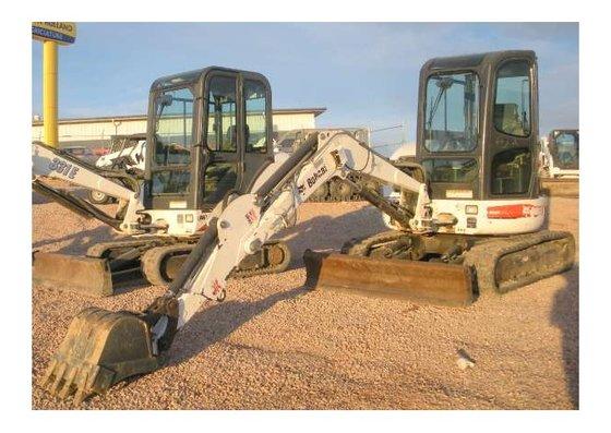 2008 Bobcat 430 Excavator in