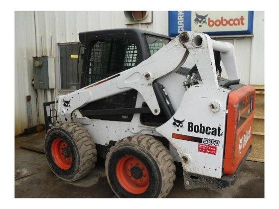 2011 Bobcat S650 Skid-Steer Loader
