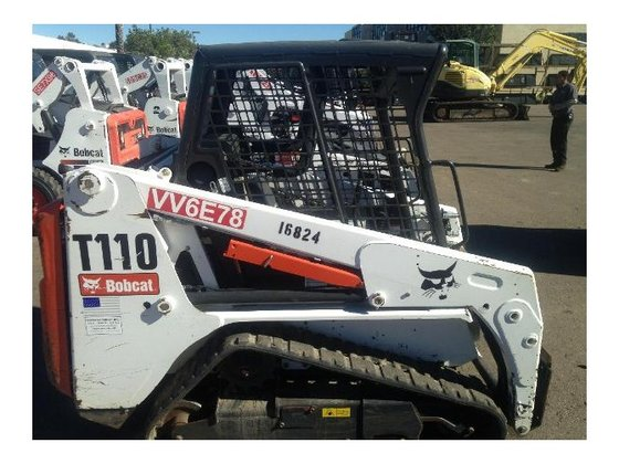 2012 Bobcat T110 Skid-Steer Loader