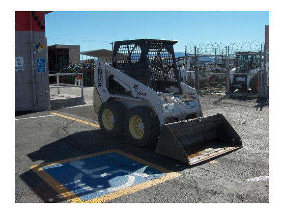 1996 Bobcat 753 Skid-Steer Loader