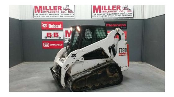 2006 Bobcat T190 Skid-Steer Loader
