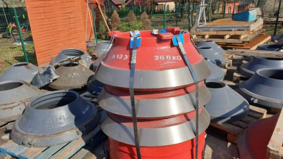 2017 Pegson Maxtrak 1000 cones crusher wear parts in Poland