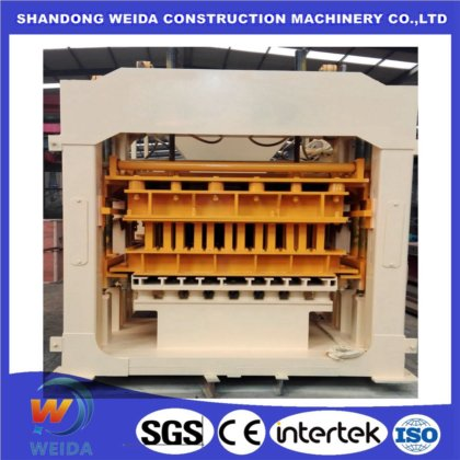 China Qt4-20 Automatic Concrete Cement Sand Fly Ash Block