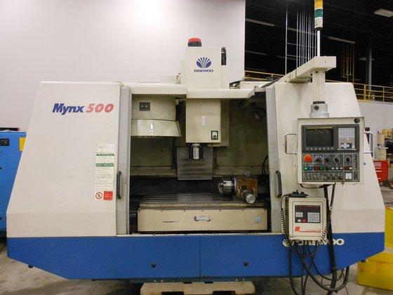 2001 DAEWOO MYNX 500 VMC