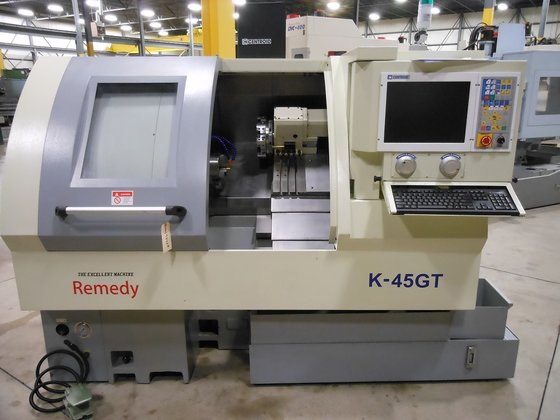 REMEDY K-45GT SLANT BED CNC