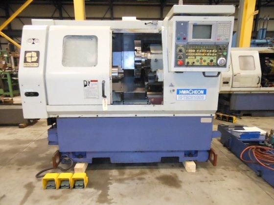 2000 HWACHEON HI-TECH 100B CNC