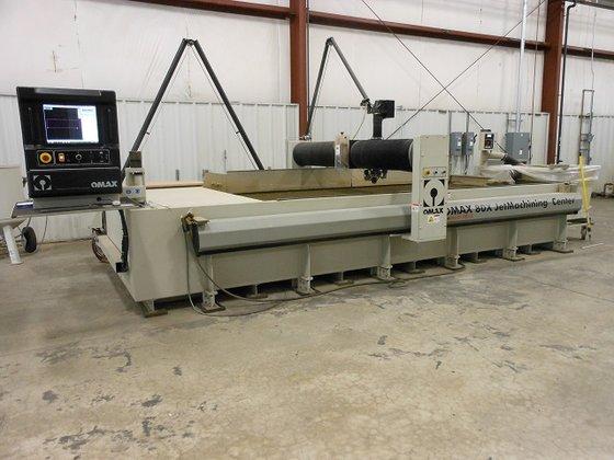 2012 OMAX 80X/5060 ENDUROMAX CNC