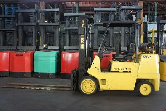1994 Hyster S80XL LP Gas