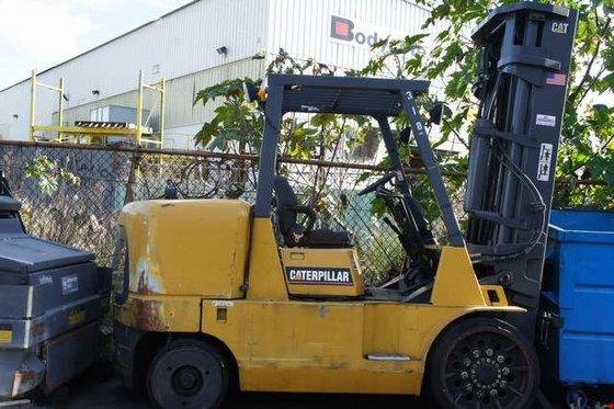 2003 Cat GC60K LP Gas