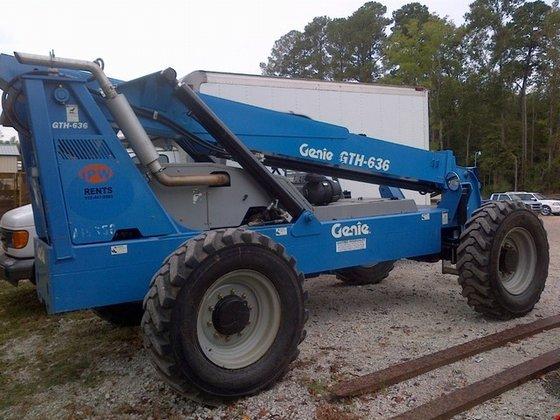 2007 Genie Lift GTH636 Diesel