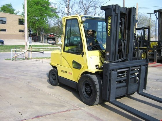 2005 Hyster H100XM LP Gas