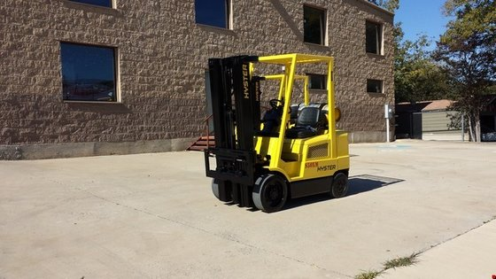 2003 Hyster S50XM LP Gas