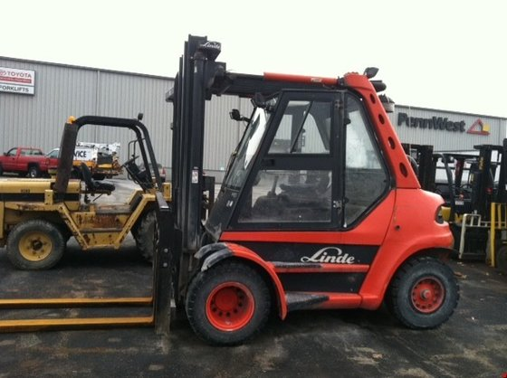 2008 Linde H80D-03 Diesel Pneumatic