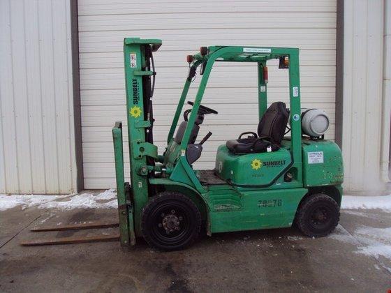 2006 Komatsu FG25ST LP Gas