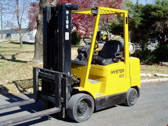 2000 Hyster S-60XM LP Gas