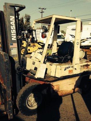 2001 Nissan KPH02A25PV LP Gas