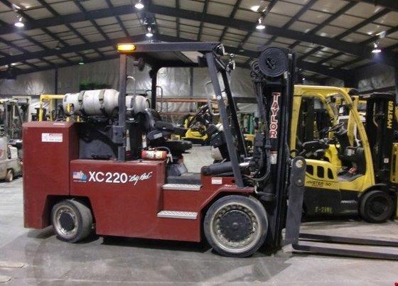 2010 Taylor XC220S LP Gas