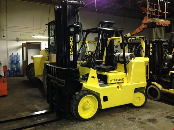2004 Hyster S155XL2 LP Gas
