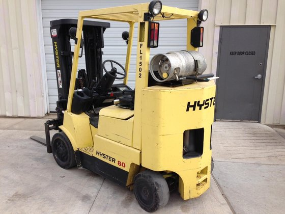 2002 Hyster S80XMBCS LP Gas